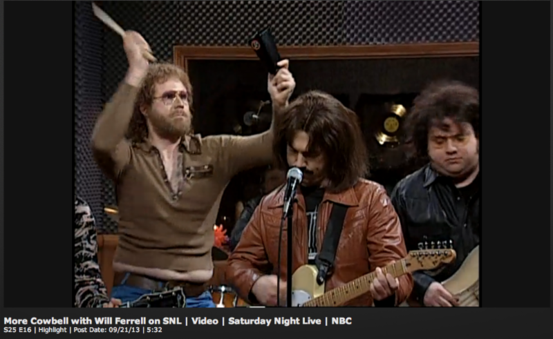 We Need More Cowbell!
